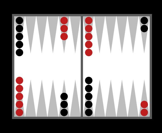 Uppställning i backgammon